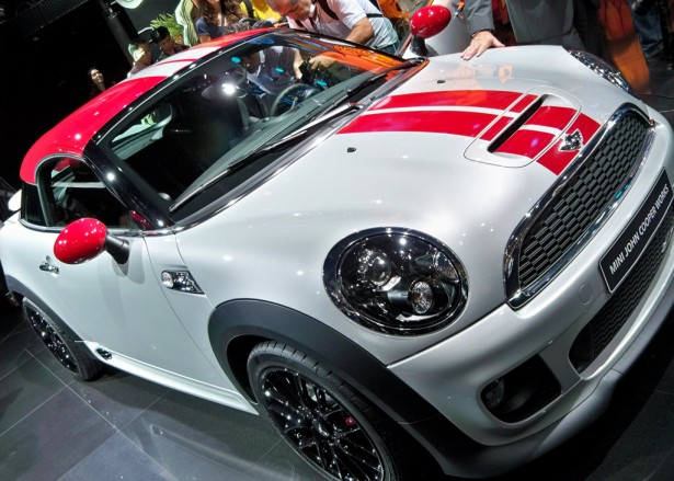 2012 MINI Cooper Coupe live photos