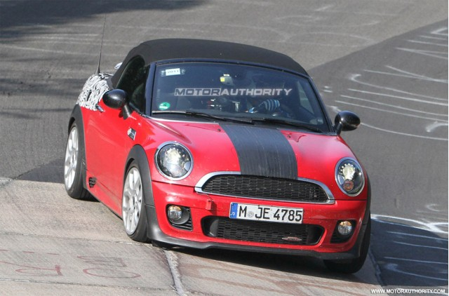 2012 MINI John Cooper Works Roadster spy shots