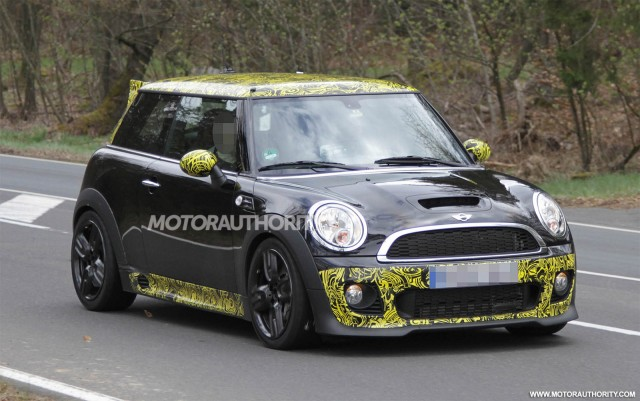 2012 MINI Cooper S John Cooper Works GP II spy shots