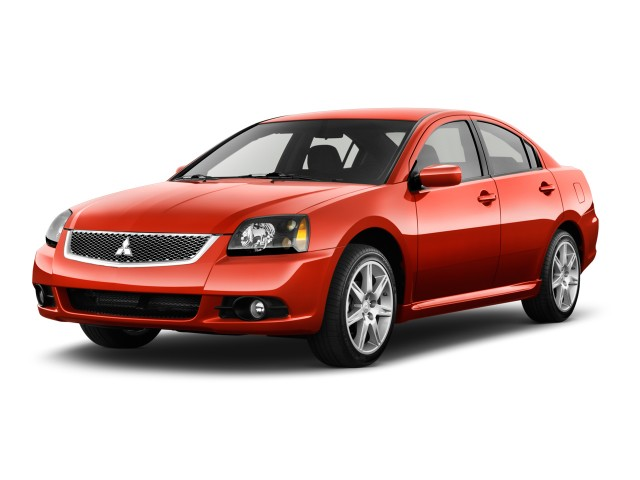 2012 Mitsubishi Galant 4-door Sedan SE Angular Front Exterior View
