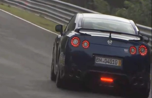 2012 Nissan GT-R at the Nurburgring