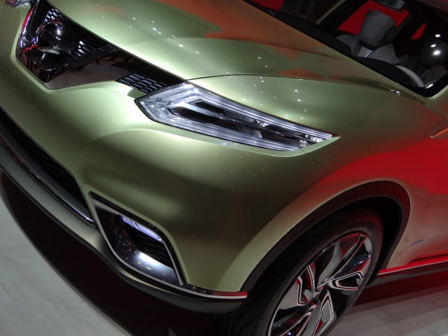 2012 Nissan Hi-Cross Concept live photos