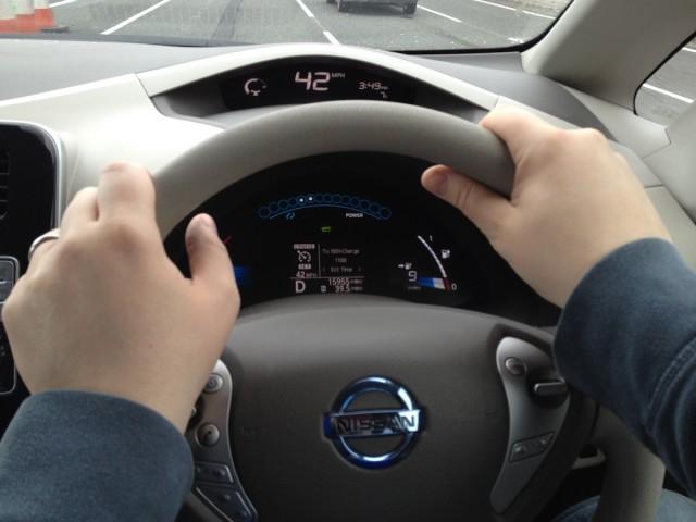 2012 Nissan Leaf (RHD)