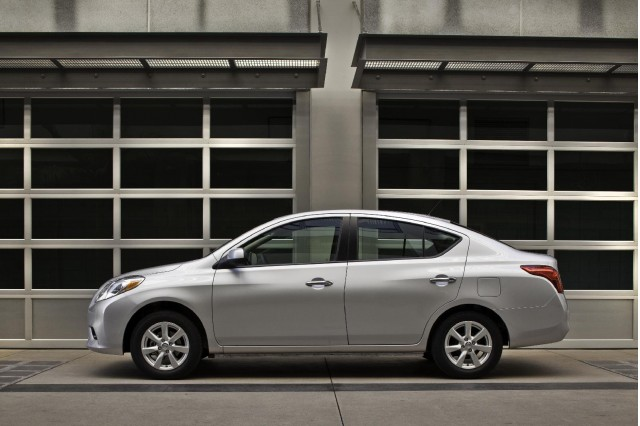 2012 Nissan Versa four-door sedan