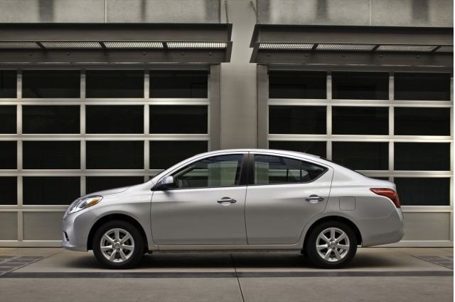 2012 Nissan Versa Sedan—Not Hatchback—Named A Top Safety Pick