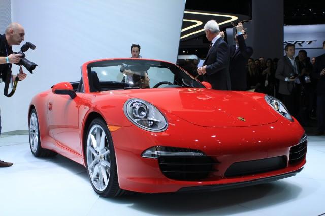 2012 Porsche 911 Cabriolet live photos