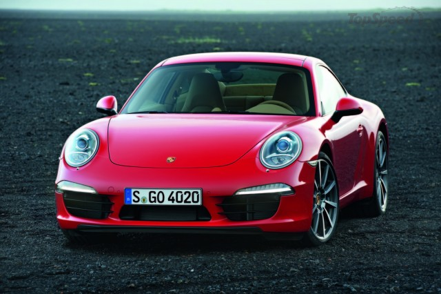 2012 Porsche 911 leaked images