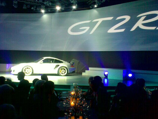2012 Porsche 911 GT2 RS leak