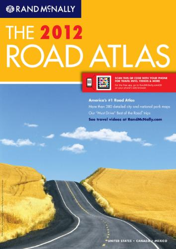 2012 Rand McNally Road Atlas
