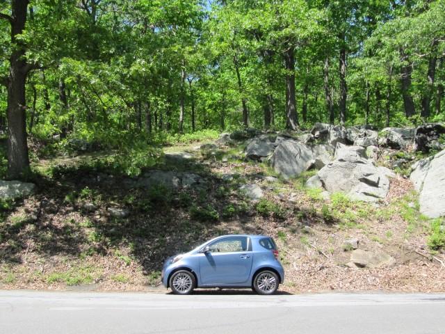 2012 Scion iQ, Bear Mountain, NY, May 2012
