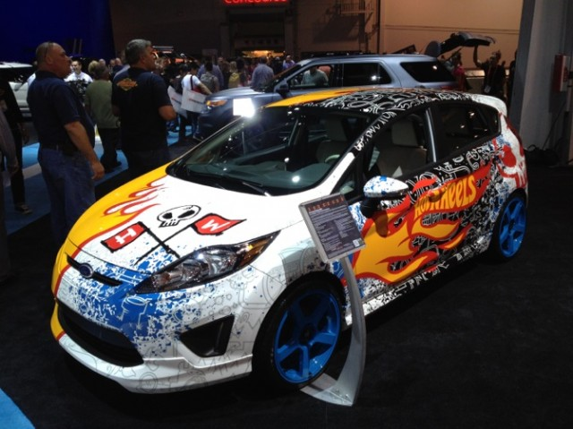 2012 Team Hot Wheels Ford Fiesta at SEMA 2011