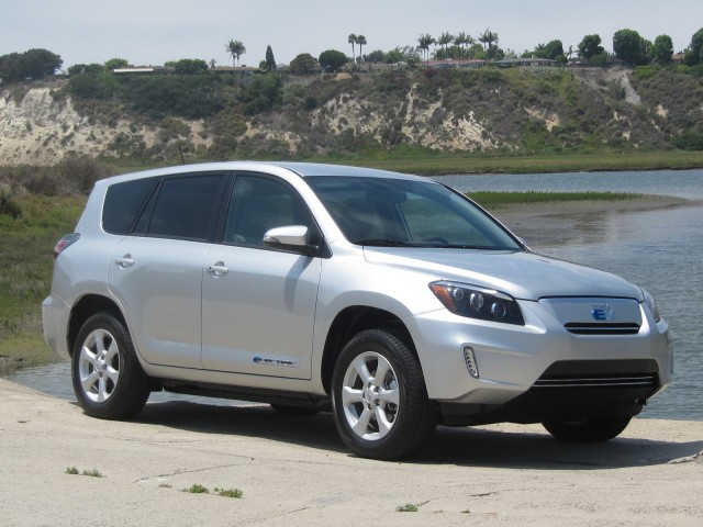 2012 Toyota RAV4 EV Newport Beach California July 2012
