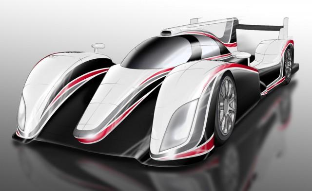 2012 Toyota LMP1 Hybrid race car