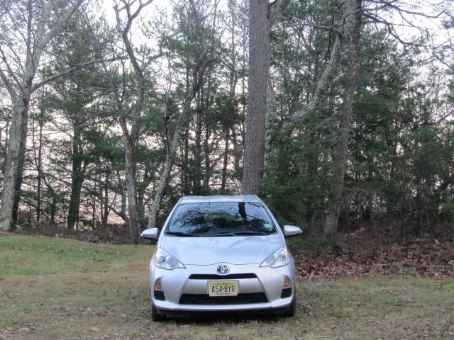 2012 Toyota Prius C, Catskill Mountains, NY, Oct 2012