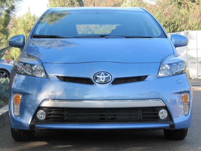 2012 Toyota Prius Plug-In Hybrid, production version road test, San Diego, CA, Jan 2012