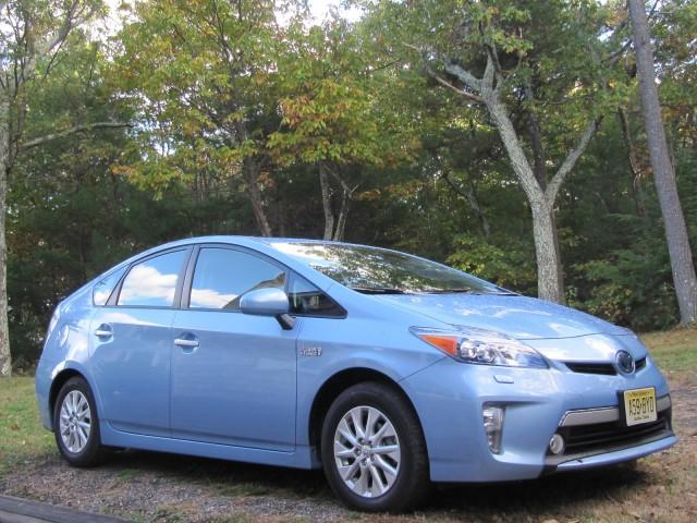 2012 Toyota Prius Plug-In Hybrid, Catskill Mountains, NY, Oct 2012