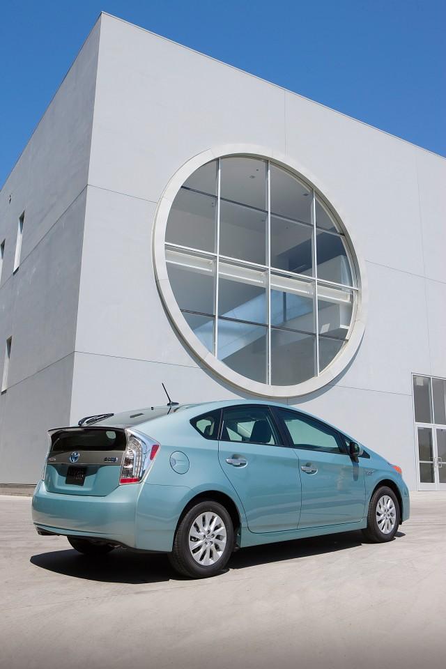 2012 Toyota Prius Plug-In Hybrid, production model