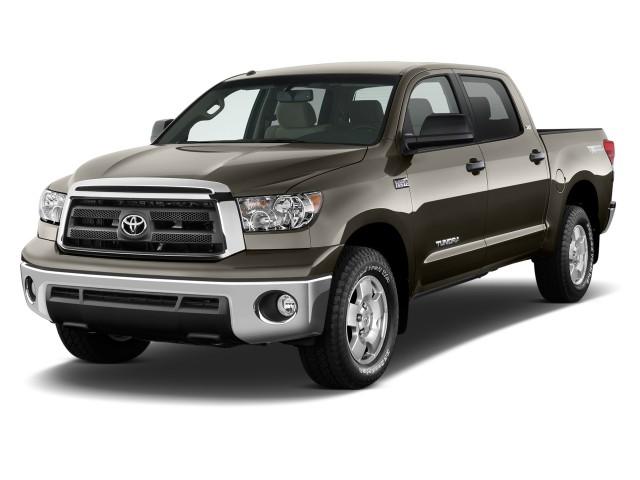 2012 Toyota Tundra Angular Front Exterior View