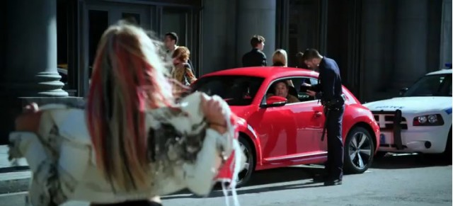 2012 Volkswagen New Beetle in Britney Spears' 'I Wanna Go' video