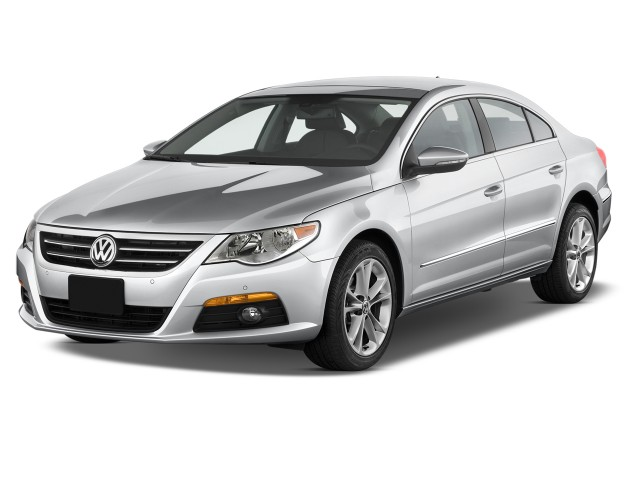 2012 Volkswagen CC 4-door Sedan Lux Angular Front Exterior View