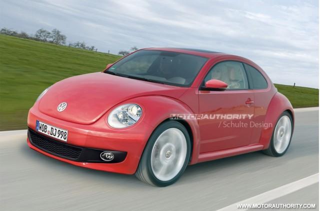 2012 Volkswagen New Beetle rendering