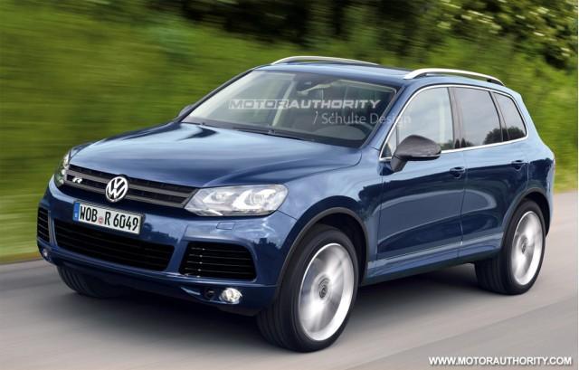 2012 Volkswagen Touareg R Hybrid rendering