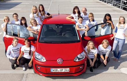2012 Volkswagen Up record attempt