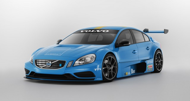2012 Volvo S60 TTA race car