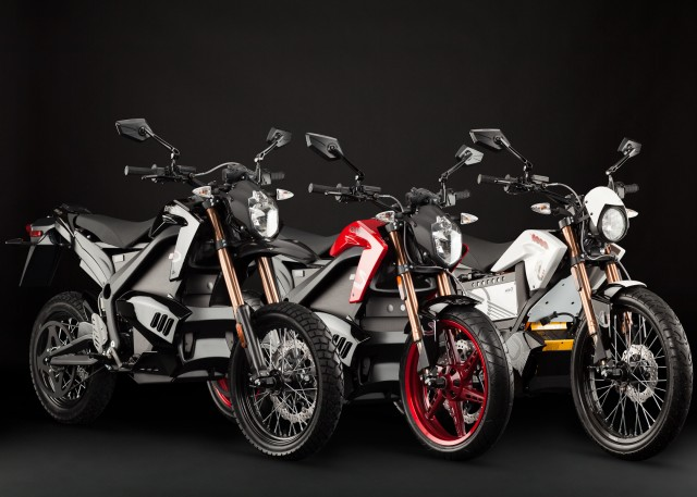 2012 Zero S, DS, XU electric motorcycles