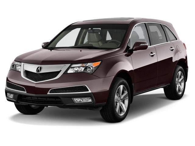 2013 Acura MDX AWD 4-door Tech Pkg Angular Front Exterior View