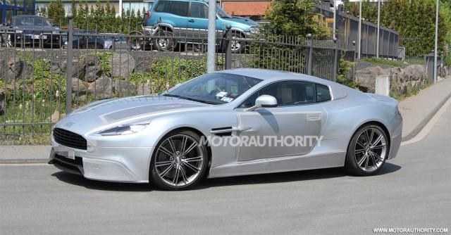 2013 Aston Martin DBS replacement spy shots