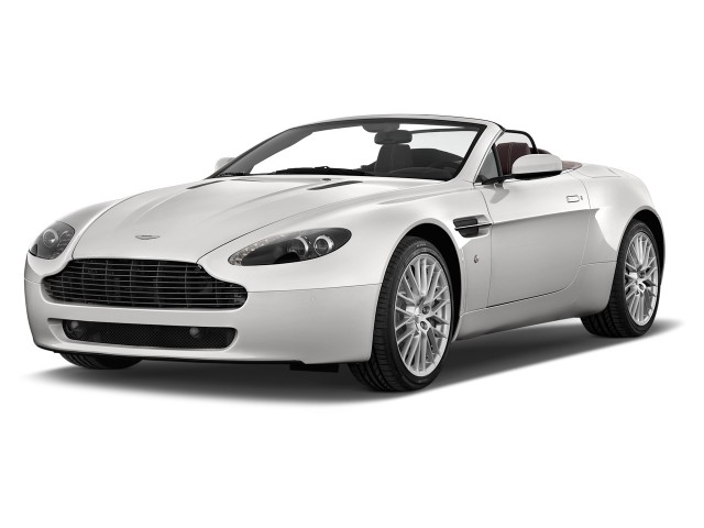 2013 Aston Martin V8 Vantage 2-door Convertible Angular Front Exterior View