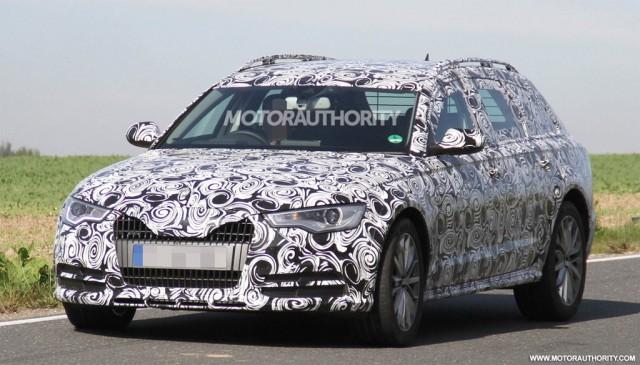 2013 Audi A6 allroad quattro spy shots