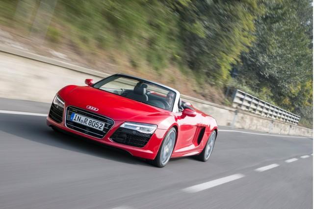 2013 Audi R8 first drive