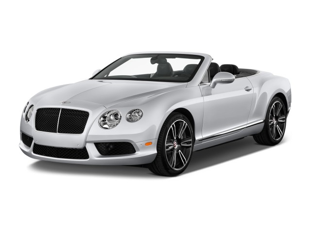 2013 Bentley Continental GT 2-door Convertible Angular Front Exterior View