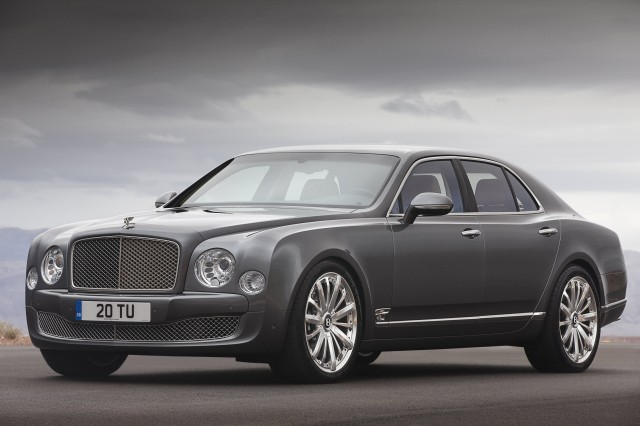 2013 Bentley Mulsanne Mulliner Driving Specification