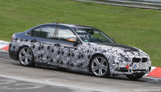 2013 BMW 3-Series spy shots