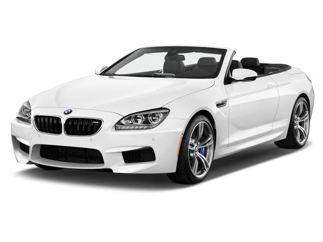 2013 BMW M6 2-door Convertible Angular Front Exterior View
