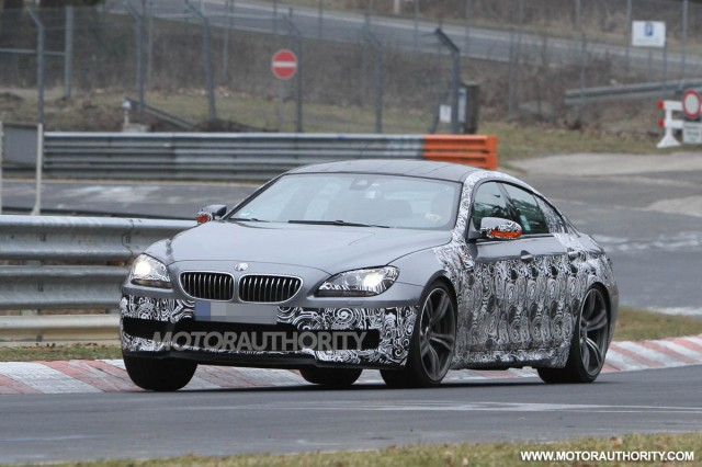 2013 BMW M6 Gran Coupe spy shots