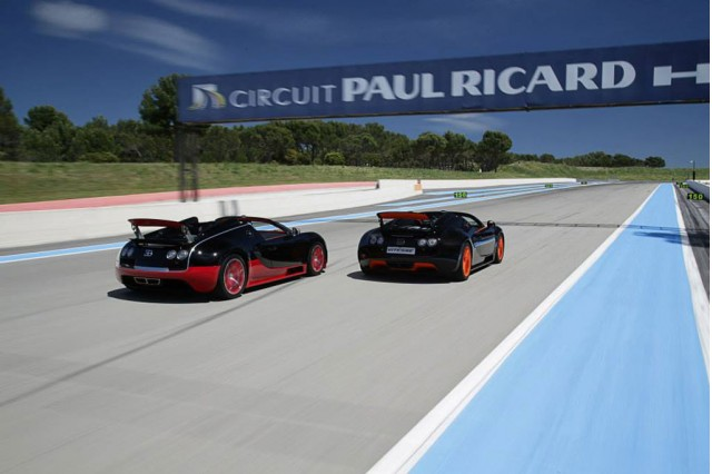 2013 Bugatti Driving Experience at France's Circuit Paul Ricard