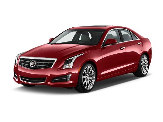 2013 Cadillac ATS 4-door Sedan 2.0L RWD Angular Front Exterior View