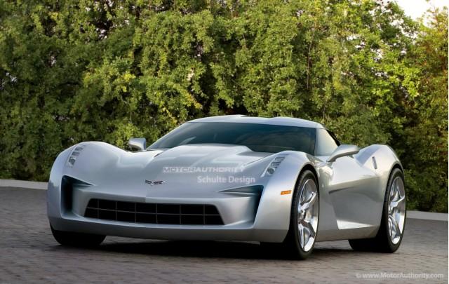 2013 Chevrolet C7 Corvette preview rendering