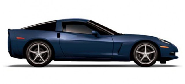 2013 Chevrolet Corvette in Night Race Blue - Image courtesy CorvetteBlogger
