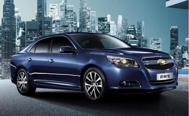 2013 Chevrolet Malibu Chinese market edition