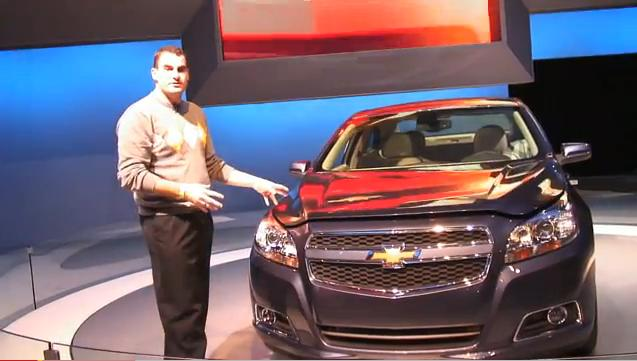 2013 Chevrolet Malibu Eco at New York Auto Show with High Gear Media's Joel Feder