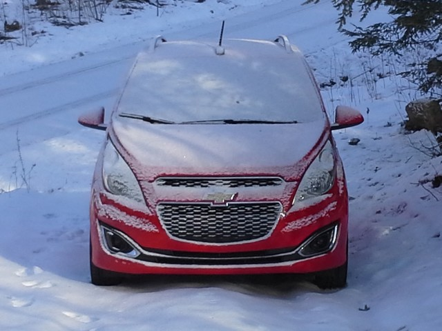 2013 Chevrolet Spark, road test, January 2013