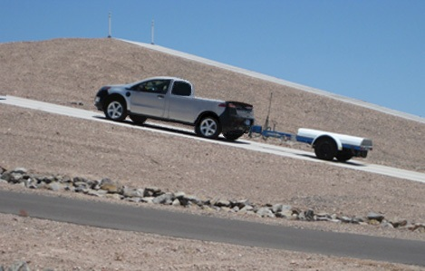 2013 Chevrolet Volt E-Truck spy shot [courtesy GMInsideNews]