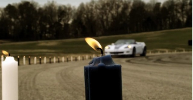 2013 Chevy 427 Corvette blows out its birthday candles