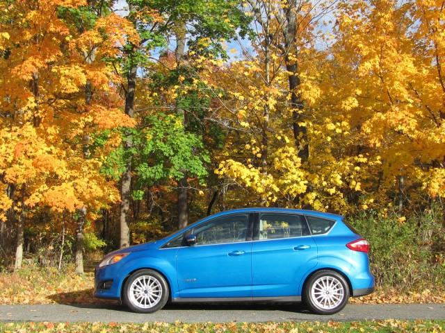 2013 Ford C-Max Hybrid, Catskill Mountains, NY, Oct 2012