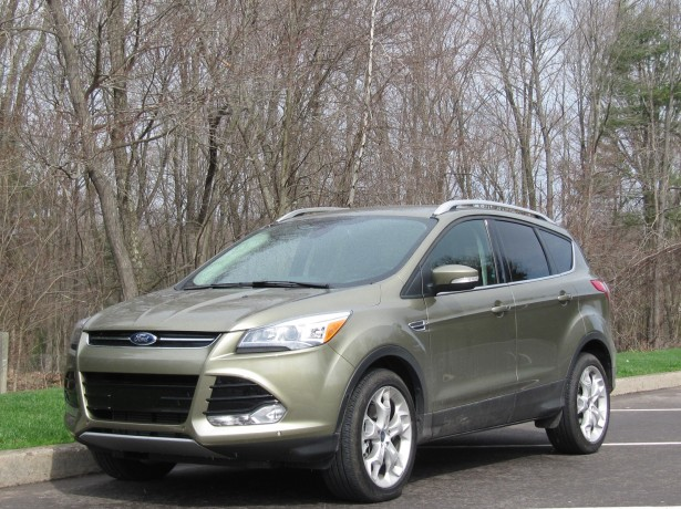 2013 Ford Escape EcoBoost 2.0-liter, Pennsylvania, April 2013